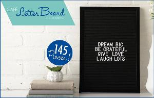 Leisure Arts Letter Board Sign Giveaway