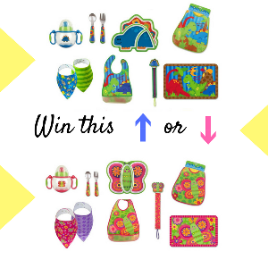 Let's Eat Baby Set Giveaway