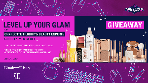 LEVEL UP YOUR GLAM with Charlotte Tilbury