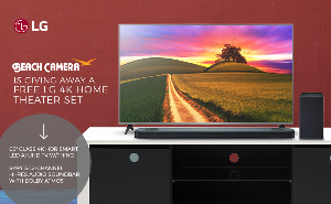 LG 4K Home Theater Set Giveaway
