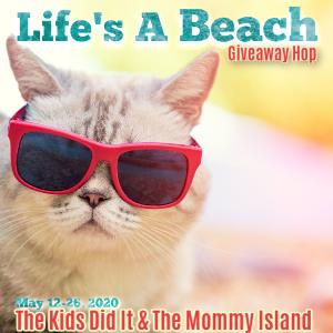 Life's a Beach Giveaway Hop-Win a $25 Amazon Gift Card!!