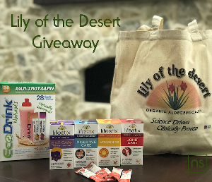 Lily of the Desert Giveaway