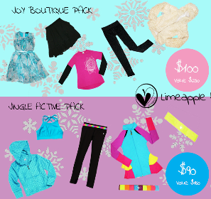 Limeapple Clothing Holiday Pack of your choice