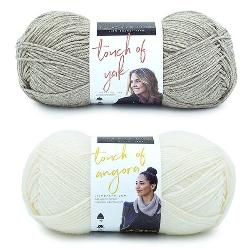 Lion Brand Yarn Touch of Lux Bundle Giveaway