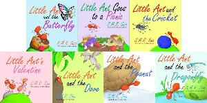 little ant book covers