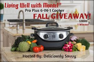 Living Well with Montel Pro Plus 6-IN-1 Cooker Giveaway
