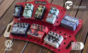 Loaded Walrus Audio/Holeyboard Pedalboard ($2,211)