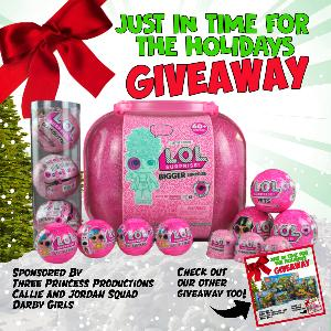 LoL holiday giveaway