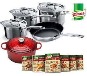 Luxury kitchen set with Knorr Naturally Tasty Giveaway!