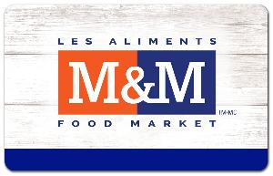 M&M Food Market  gift card