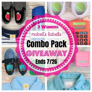 Mabel's Labels Combo Pack Giveawa