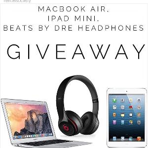 Macbook air + beats headphones giveaway