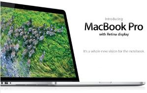 MacBook Pro w/ Retina Display