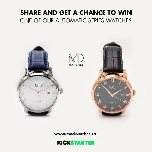 MAD Watches - Win an Automatic Series Timepiece