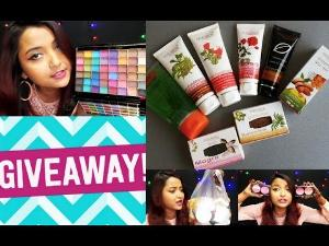 Makeup, Beauty Accessories, Skincare & Food Giveaway!
