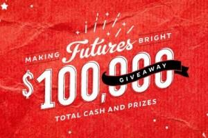 Making Futures Bright $100,000 Dollar Giveaway