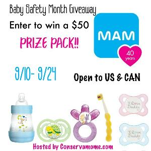 Mam prize pack giveaway