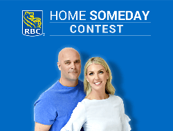 man and a woman and the rbc logo