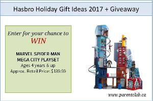 MARVEL SPIDER-MAN MEGA CITY PLAYSET GIVEAWAY!