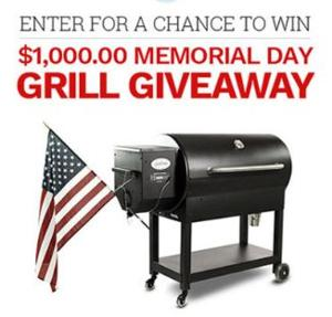 Memorial Day Grill Giveaway