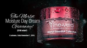 Merlot Moisture Day Cream Giveaway