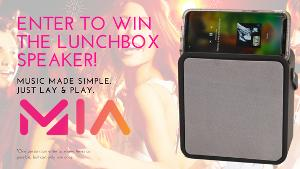 MIA Sound Lunchbox Speaker With Wireless Phone