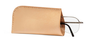 Michele Varian Natural Leather Eyeglass Case ($40)