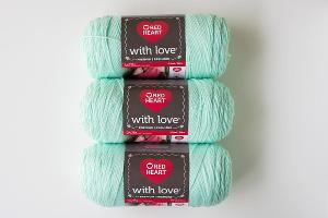 Minty With Love Yarn Giveaway