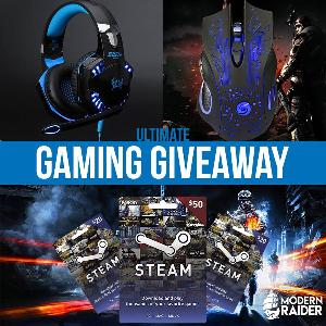 Modern Raider's Win this Month's Ultimate Gamer Giveaway!
