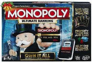 Monopoly Ultimate Banking Board game.
