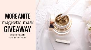 Morganite Magnetic Mask Giveaway ($3,000 Value!)