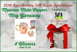 Moscow Mule Copper Mug Giveaway