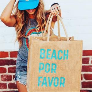 Mother Trucker & Co. Beach Bag ($35)