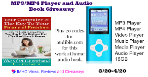 MP3/MP4 Player and Audio Book