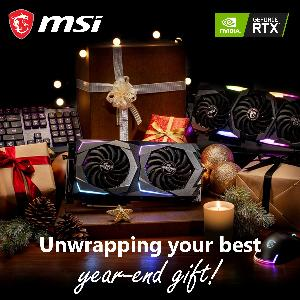 MSI Giveaway: Unwrapping your best year-end gift!