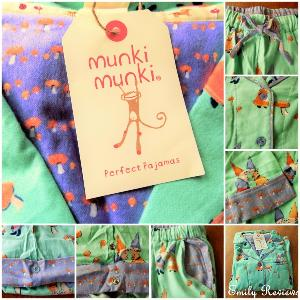 Munki Munki flannel pajamas for women