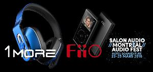 music player and headphones with Audio Montreal, FiiO and 1More""