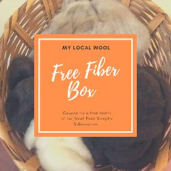 My Local Wool Spinning Fiber Subscription Giveaway