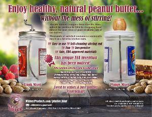 Natural Peanut Butter Hand Mixer Giveaway