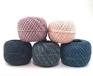 Naturally Herbal Dyed Recycled Silk Yarn Pack Giveaway