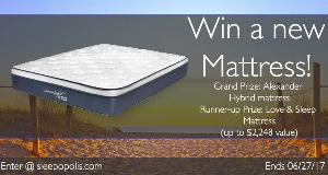 Nest Bedding Alexander Hybrid Mattress Giveaway