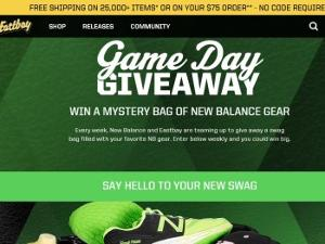 New Balance/Eastbay Game Day Giveaway
