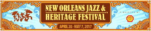 New Orleans Jazz festival - text only