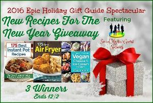 New Recipes For The New Year Giveawa