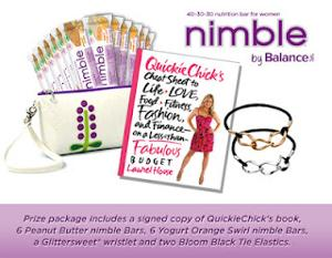 Nimble Balance Bar Prize Pack