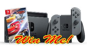 Nintendo Switch and Cars 3 Driven