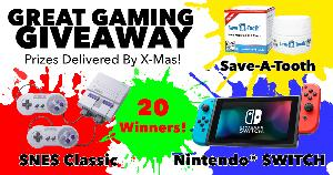 Nintendo Switch or SNES Classic Mini Giveaway