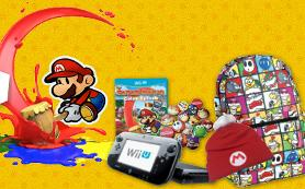 Nintendo Wii U and a prize pack