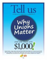 NUPGE-Why Unions Matter Contest