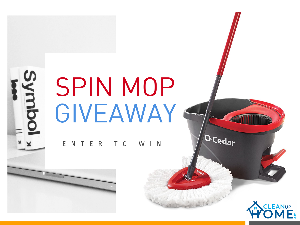 O-Cedar Spin Mop Giveaways